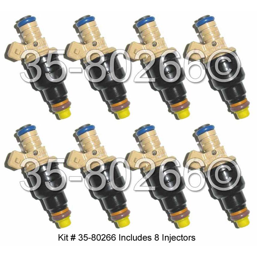Porsche 928 Fuel Injector Set
