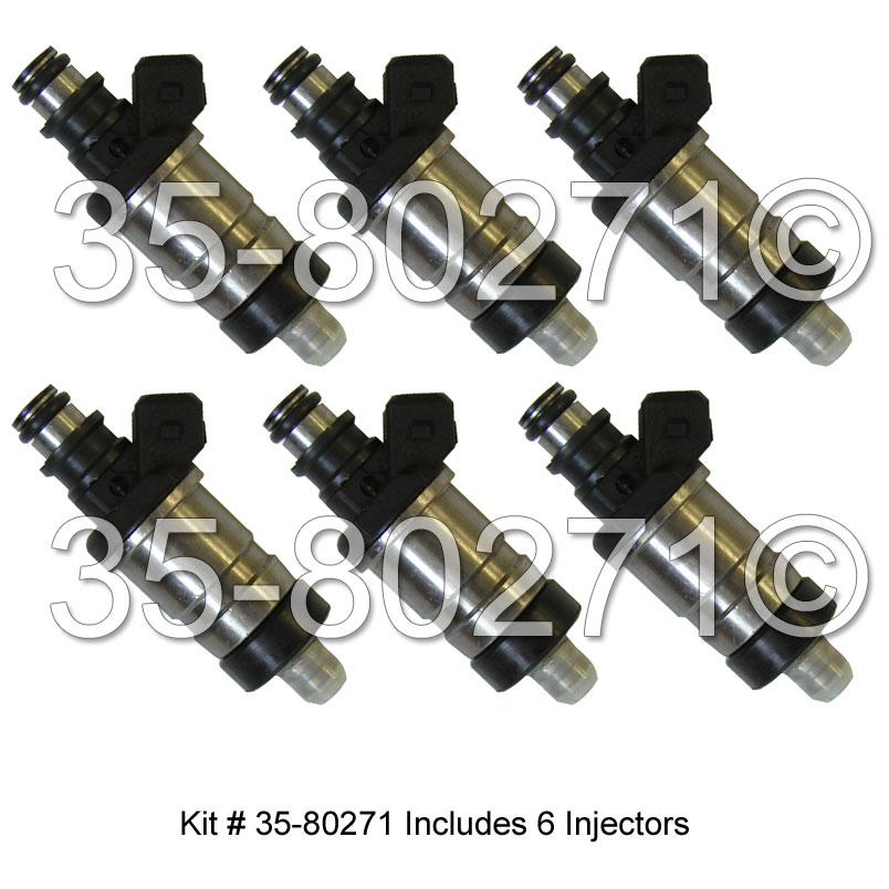 Acura Legend Fuel Injector Set