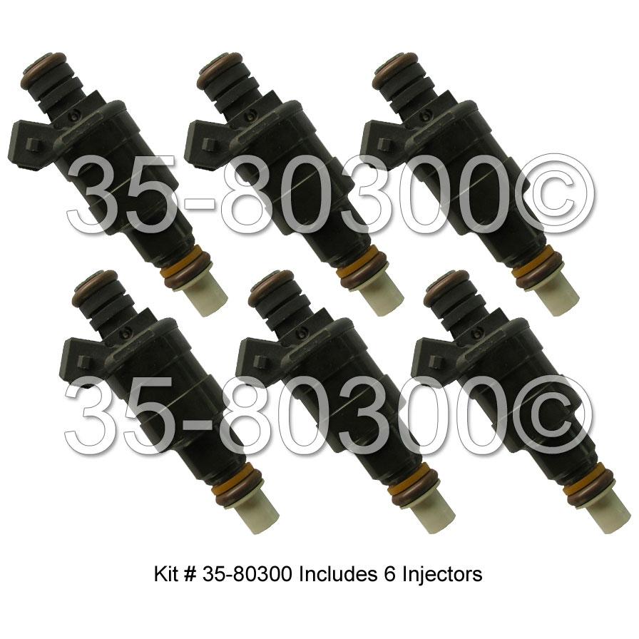 BMW 733i Fuel Injector Set