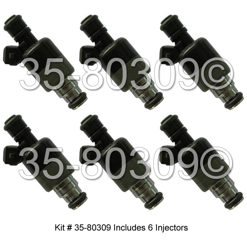 Pontiac Grand AM Fuel Injector Set