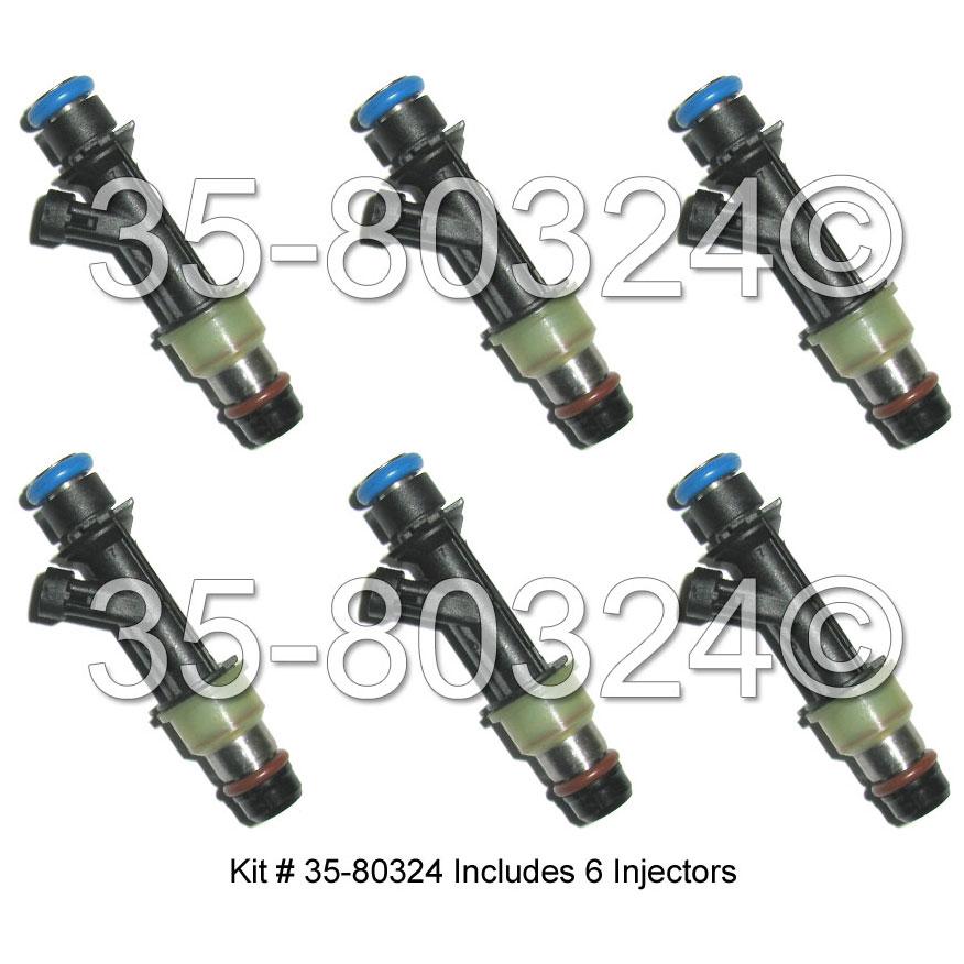 Buick Rainier Fuel Injector Set