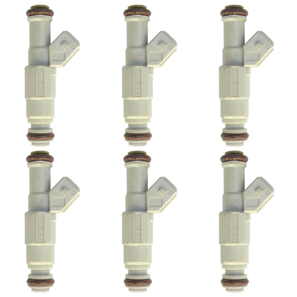 BuyAutoParts 35-80392I6 Fuel Injector Set