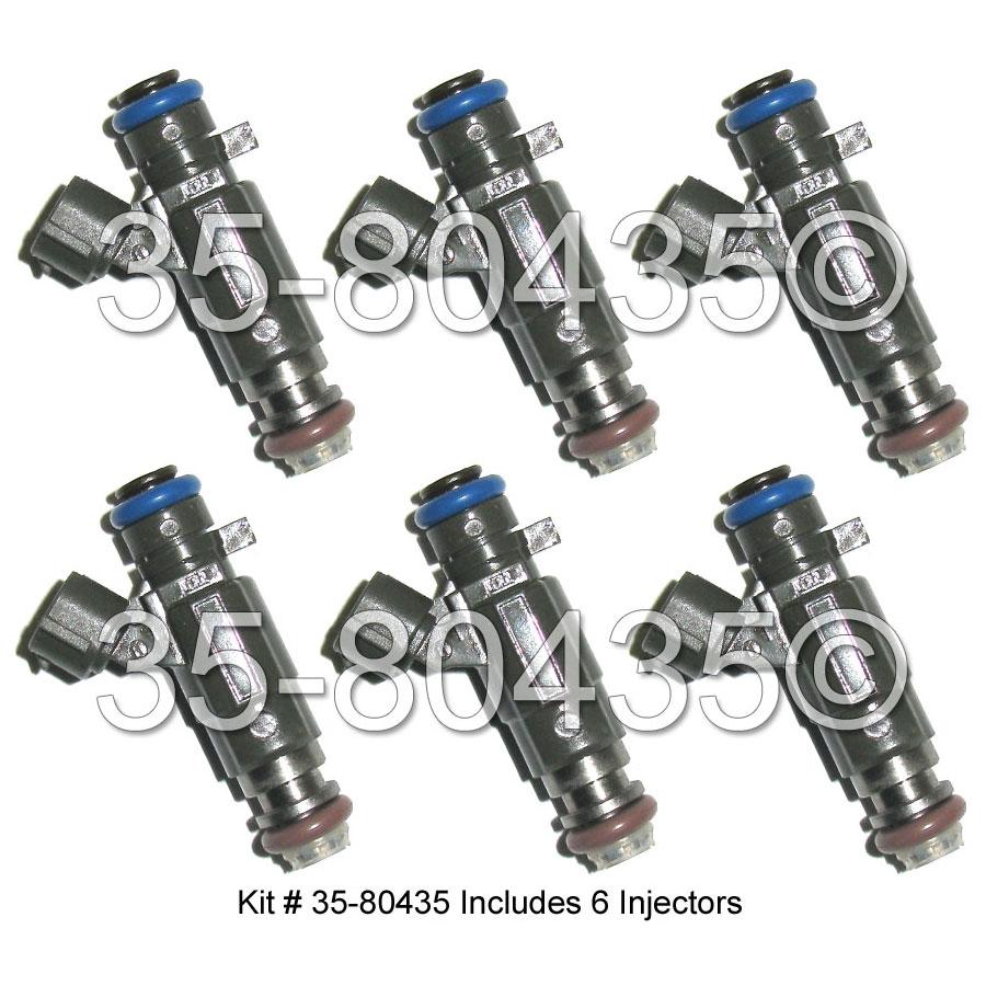 Infiniti QX4 Fuel Injector Set