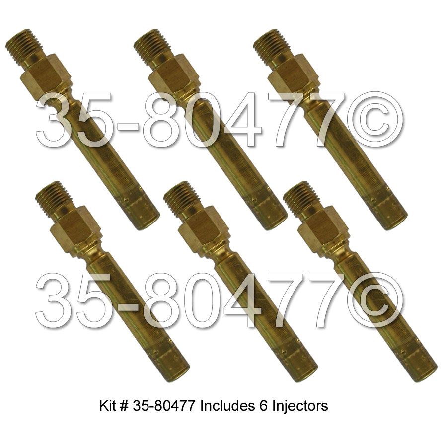 Mercedes Benz 300TE Fuel Injector Set