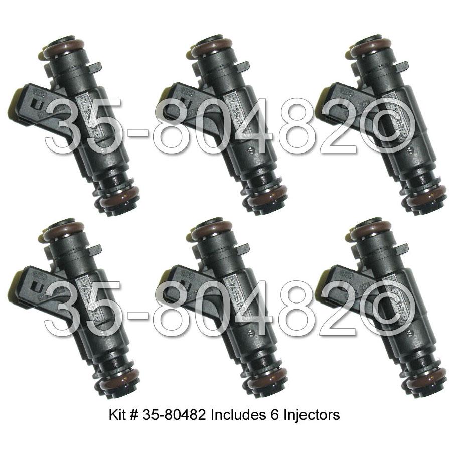 Mercedes_Benz CLK320 Fuel Injector Set