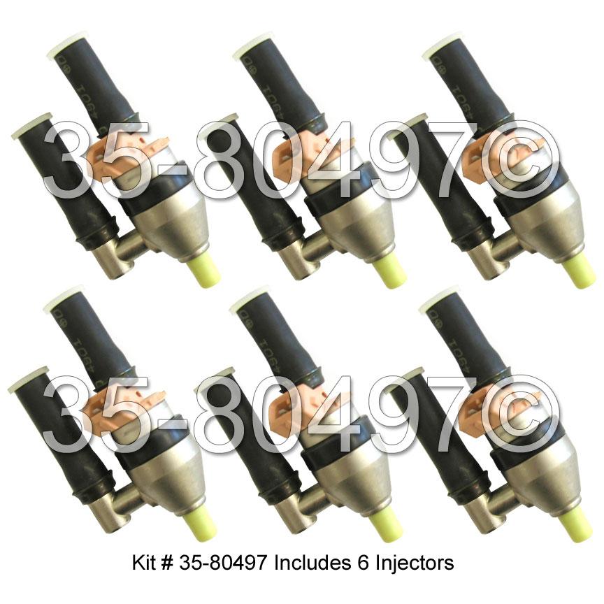 Nissan 300ZX Fuel Injector Set