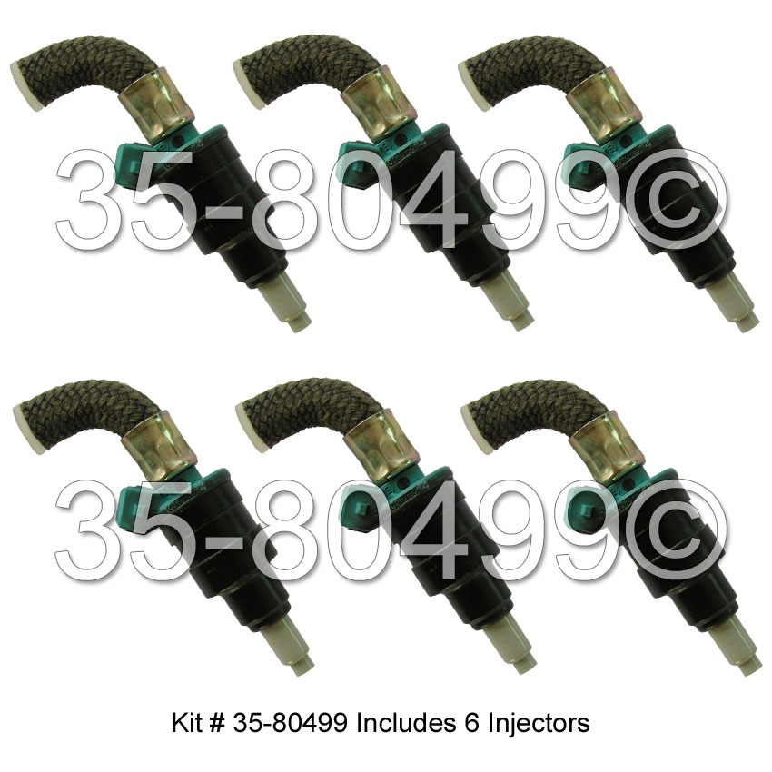 Nissan 300ZX Fuel Injector Set