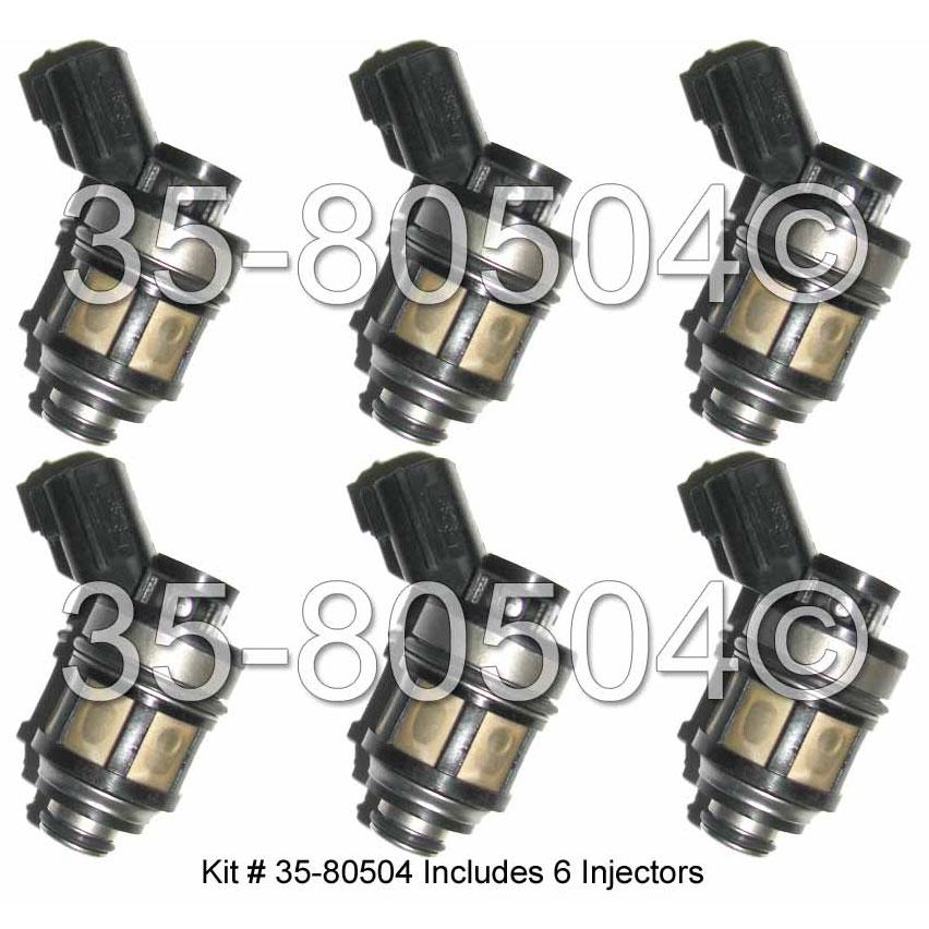 Nissan Frontier Fuel Injector Set