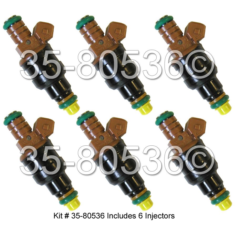 Volkswagen Jetta Fuel Injector Set