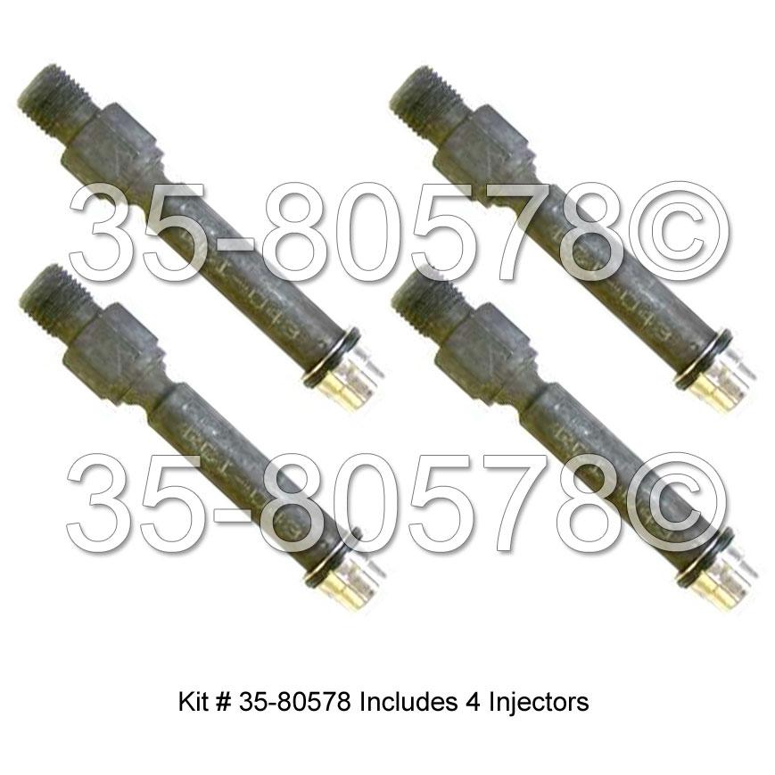 Audi 80 Fuel Injector Set