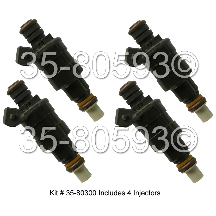 Chrysler Laser Fuel Injector Set
