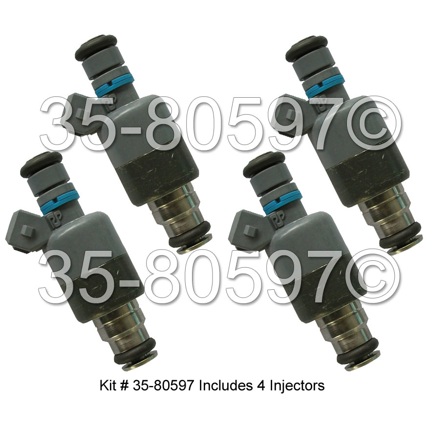 GEO  Fuel Injector Set