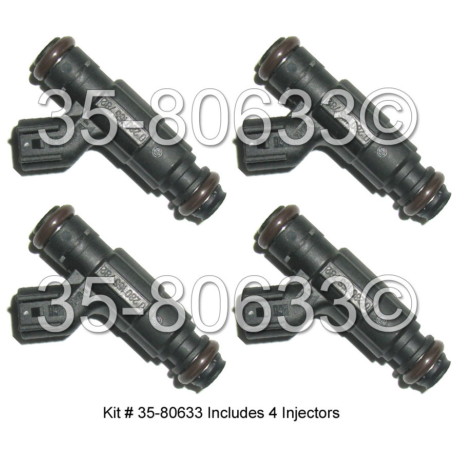Plymouth Neon Fuel Injector Set