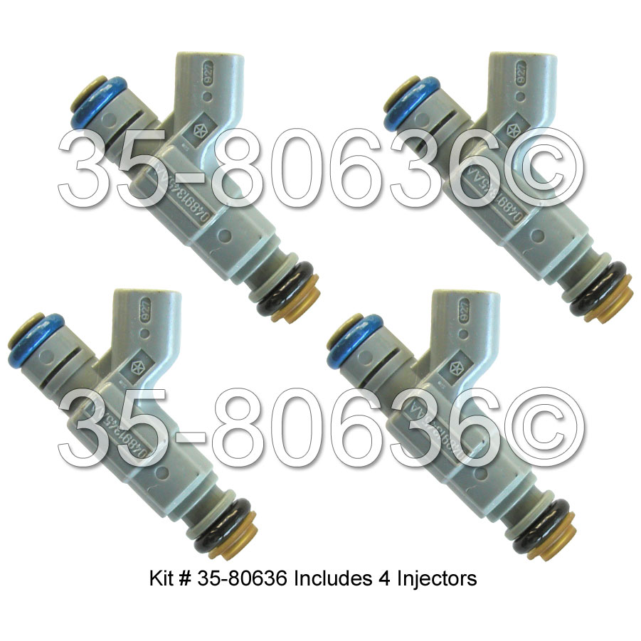 Chrysler PT Cruiser Fuel Injector Set