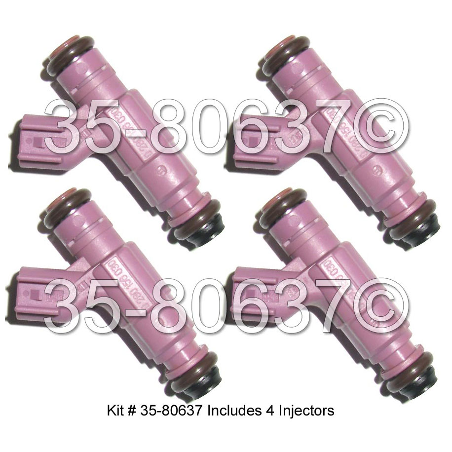 Dodge Neon Fuel Injector Set