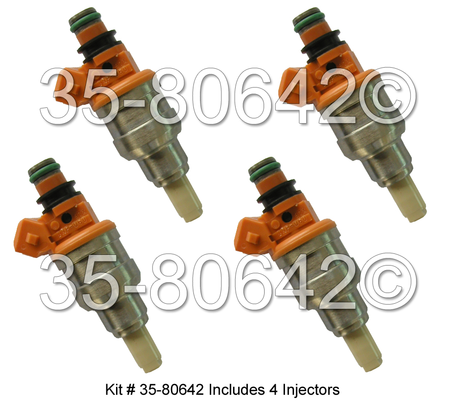 Dodge Colt Fuel Injector Set