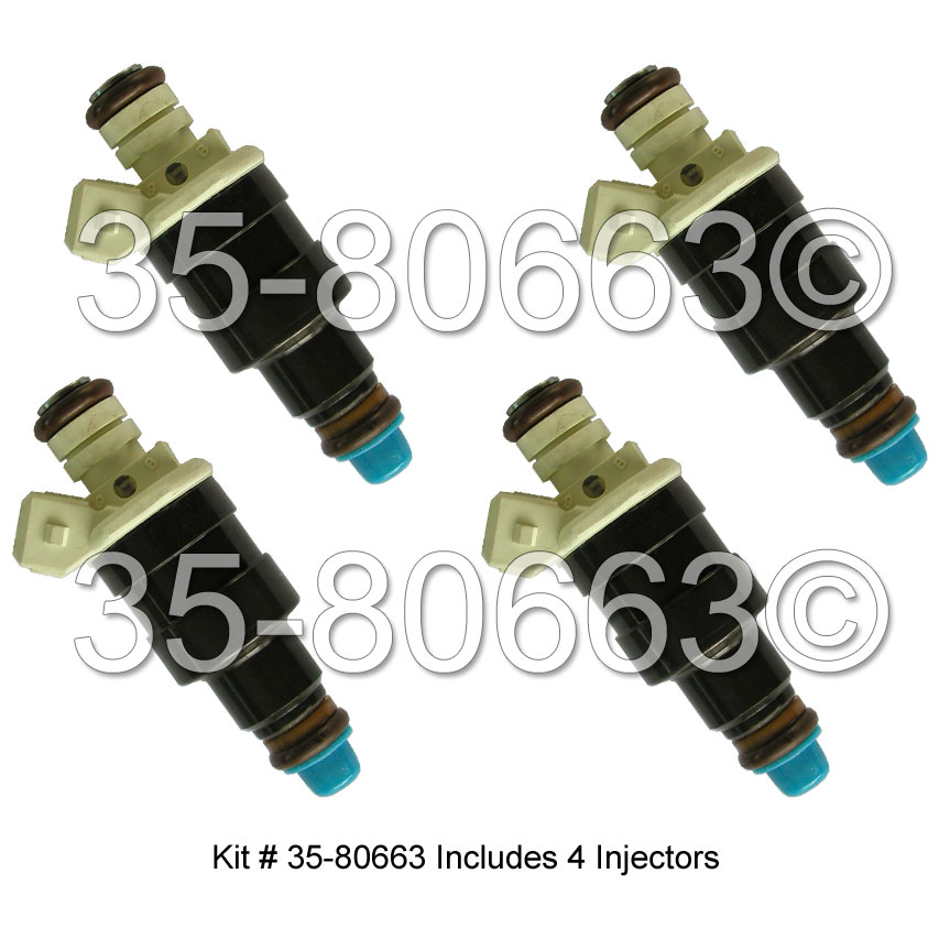 Eagle Medallion Fuel Injector Set