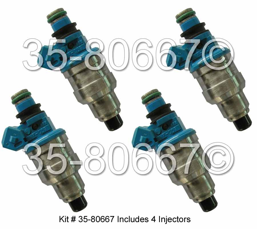 Fuel Injector Set 35-80667 I4