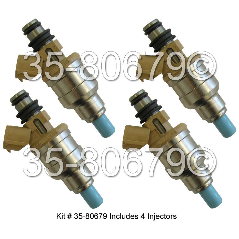 Kia Sephia Fuel Injector Set