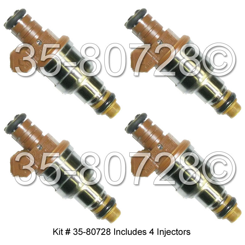 Hyundai Tiburon Fuel Injector Set