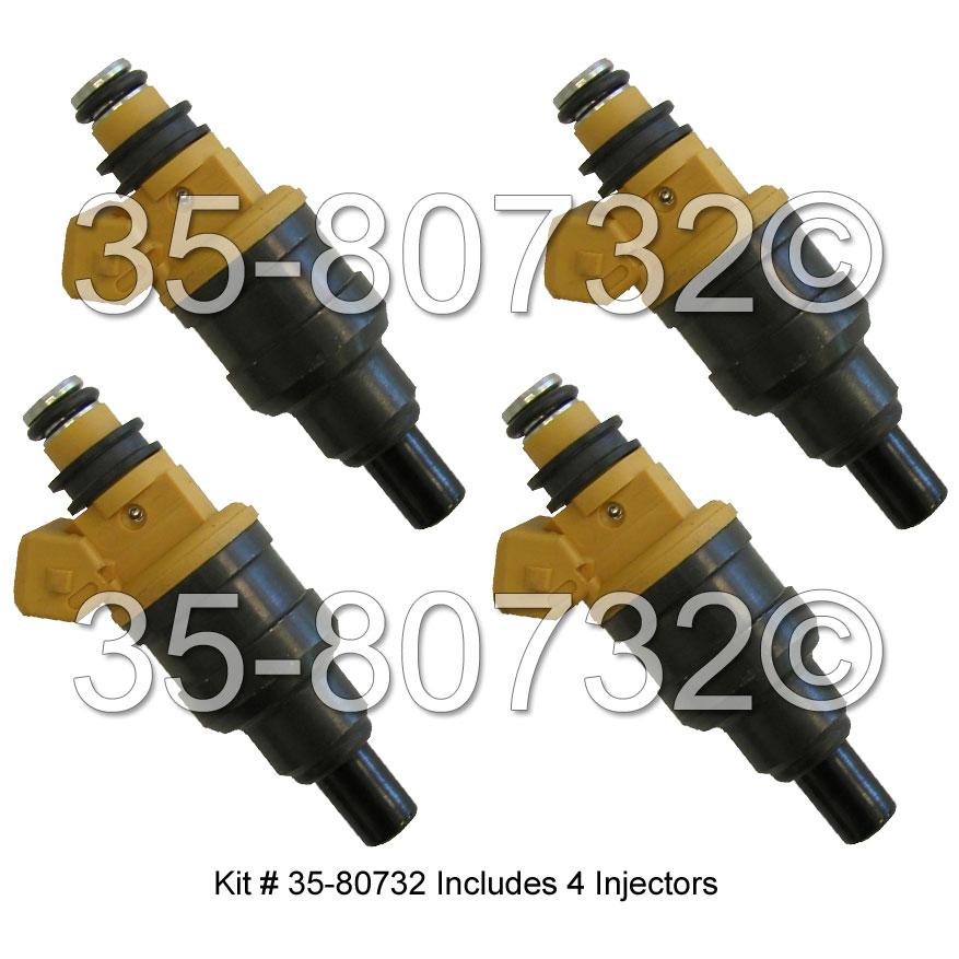 Hyundai Scoupe Fuel Injector Set