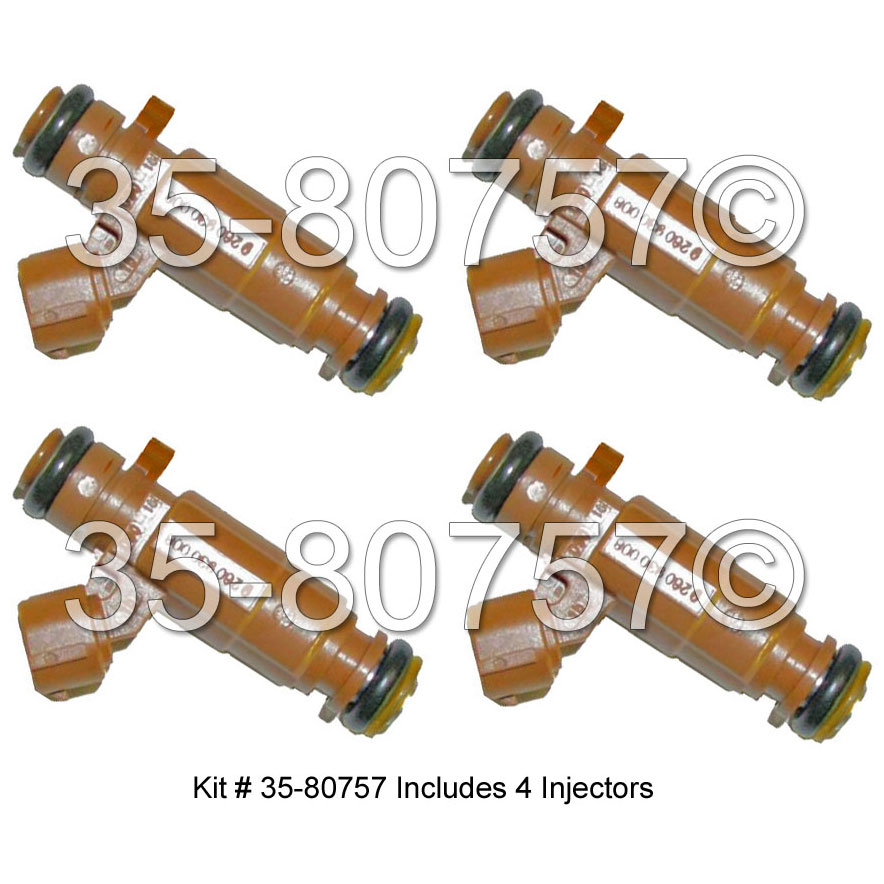 Kia Spectra Fuel Injector Set