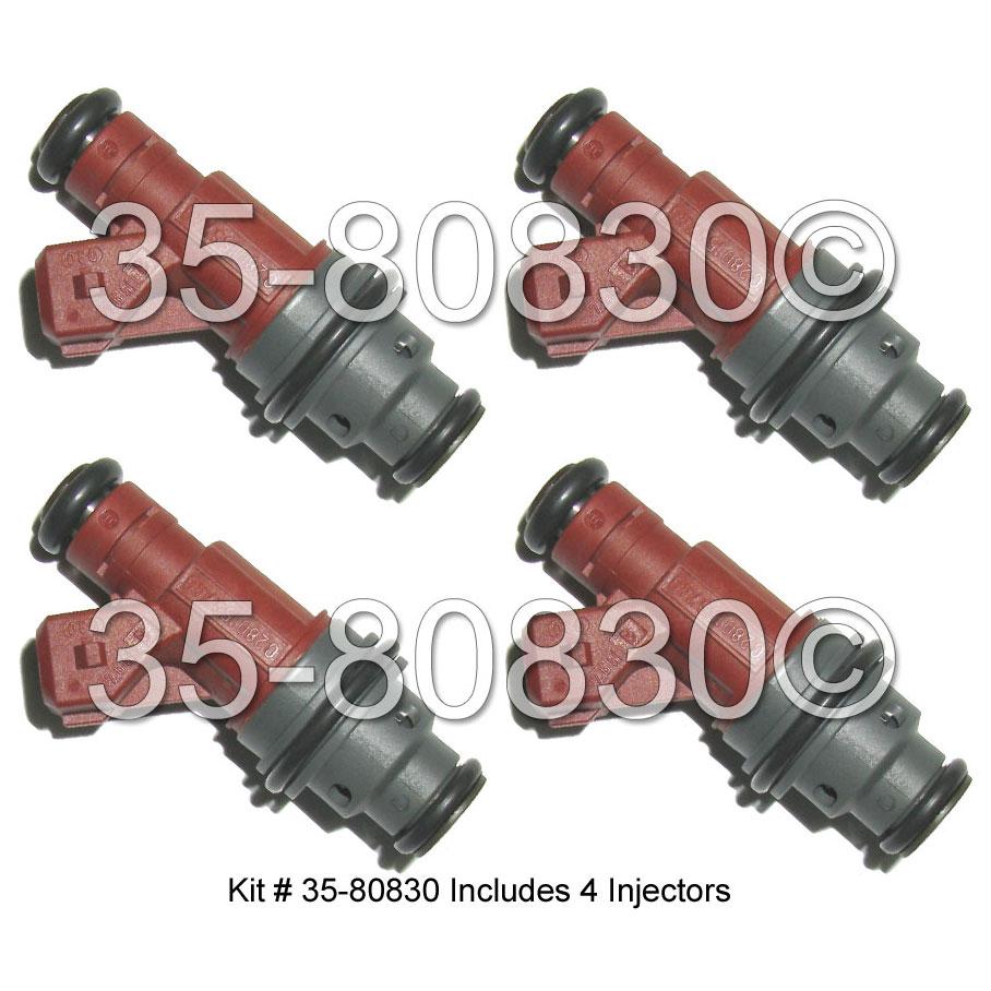 Saab 9-3 Fuel Injector Set