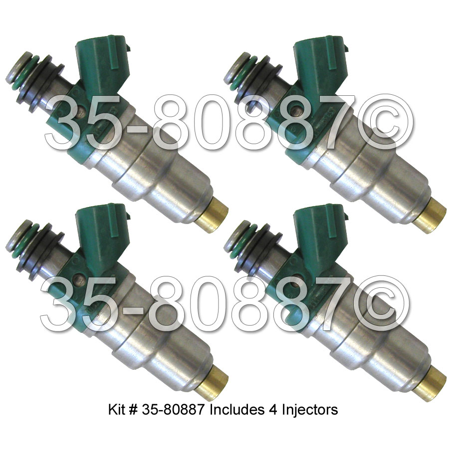 1995 Toyota Tercel Fuel Injector Set