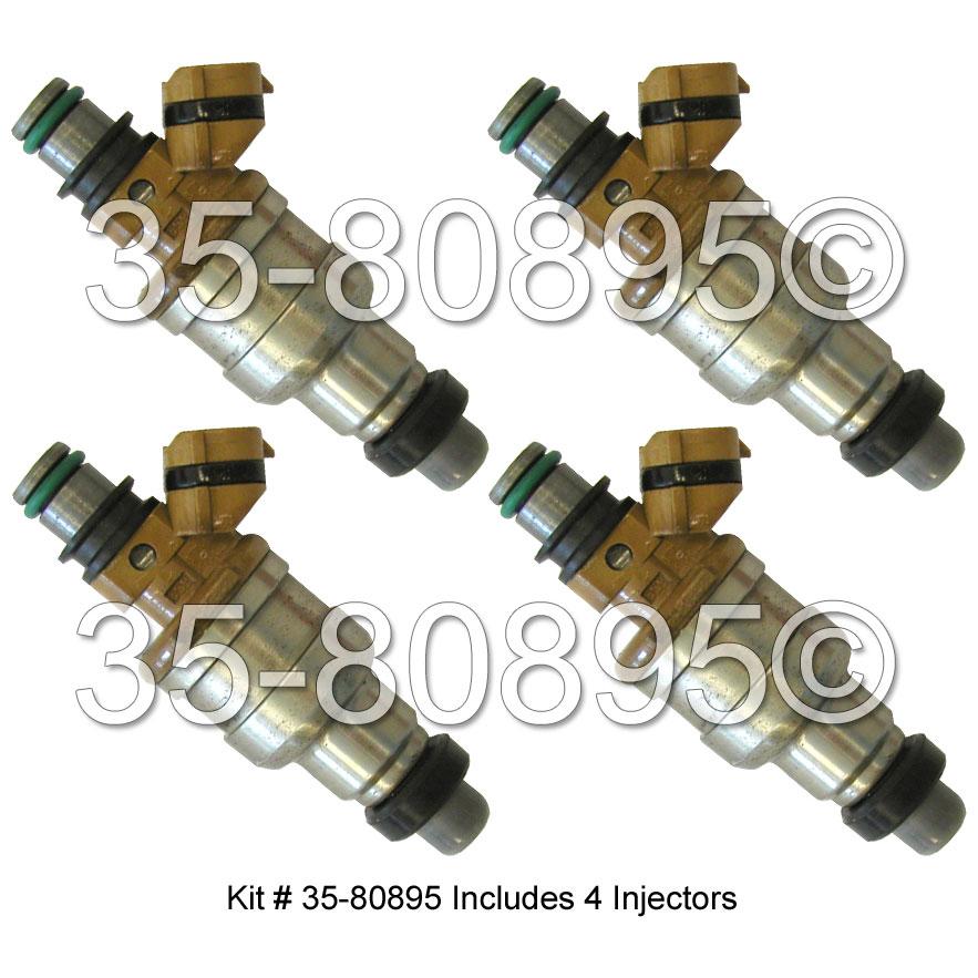 Toyota Van Fuel Injector Set