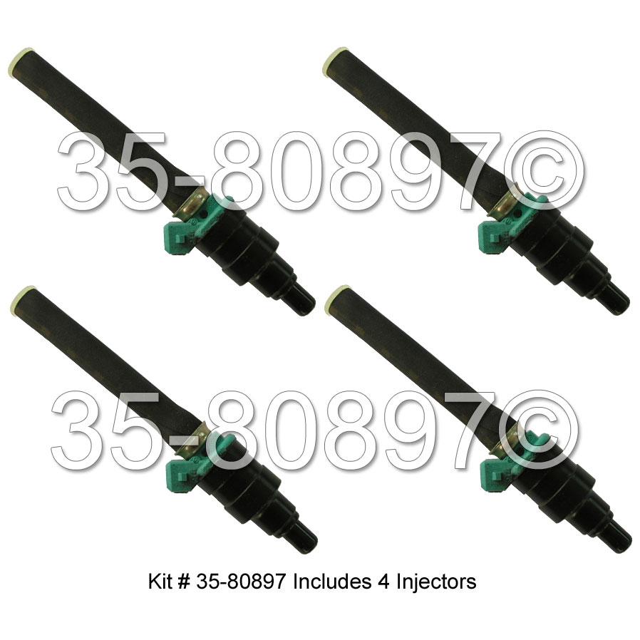 Volkswagen Beetle Fuel Injector Set