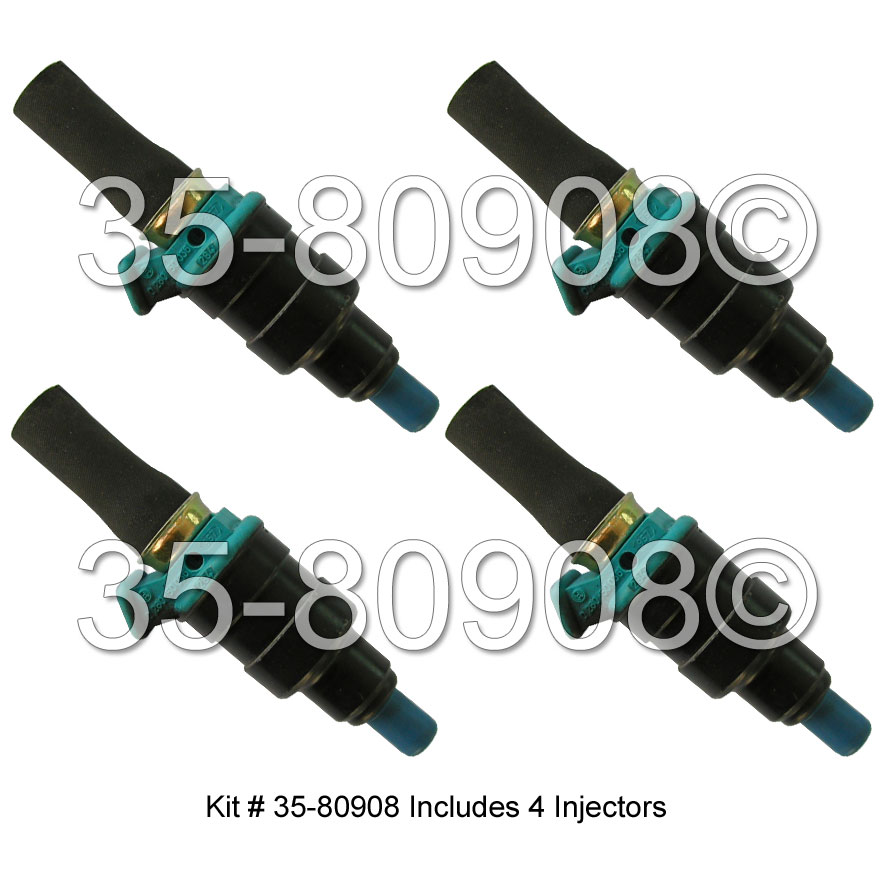 Volvo 144 Fuel Injector Set