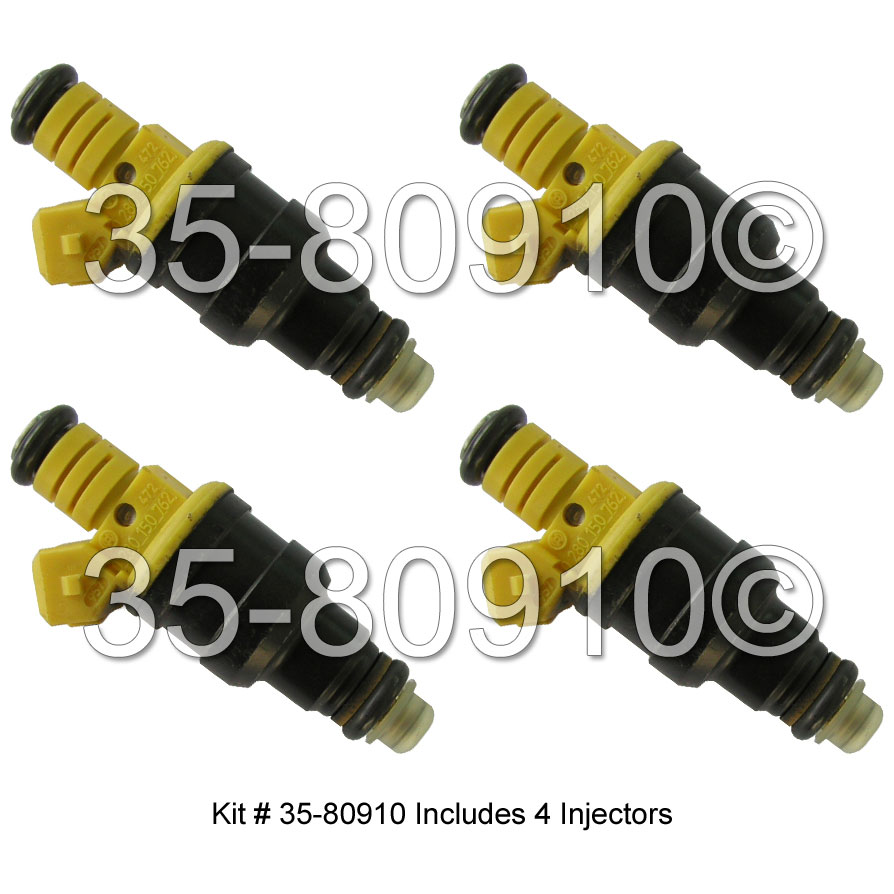 1985 Volvo 240 Fuel Injector Set