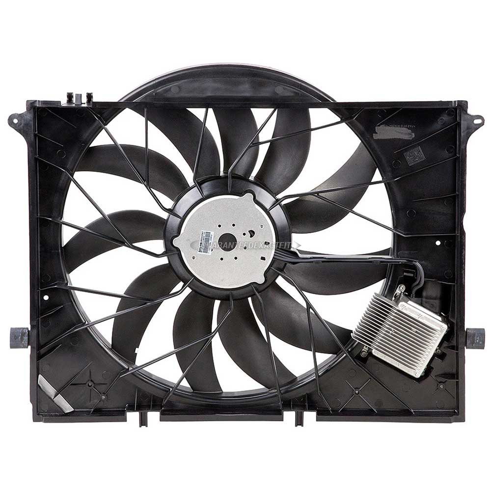 Mercedes Benz SL63 AMG Cooling Fan Assembly