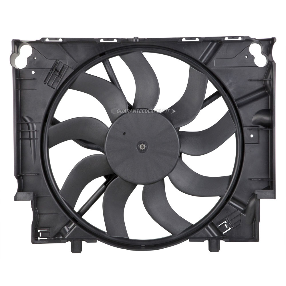 New OEM Cooling Fan Assembly For BMW 535xi 535i 2008 2009