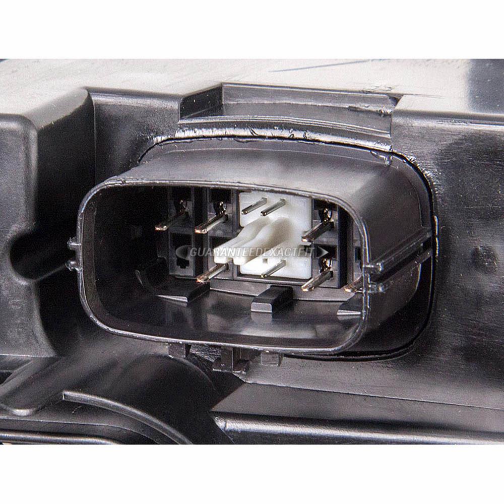 Mazda 5 Headlight Parts Diagram: 2006 Mazda 6 Headlight Assembly Right Passenger Side