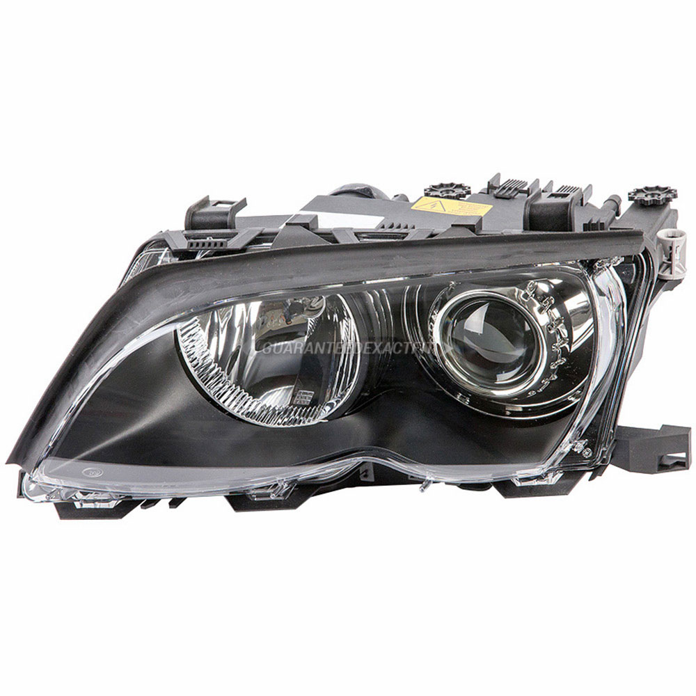 BMW 330i Headlight Assembly Pair