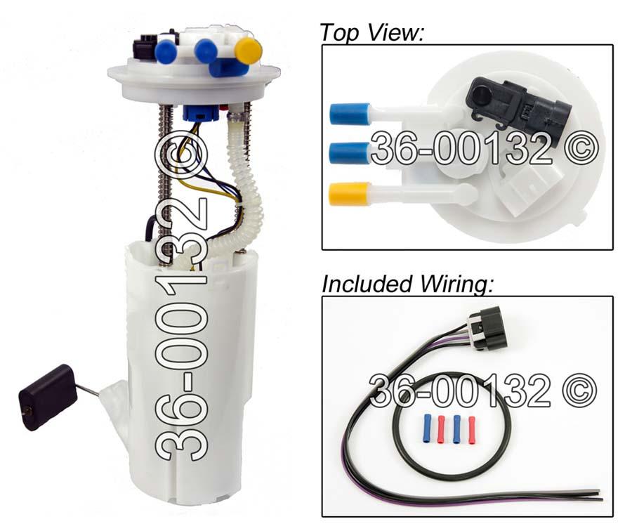 Oldsmobile Bravada Fuel Pump Assembly