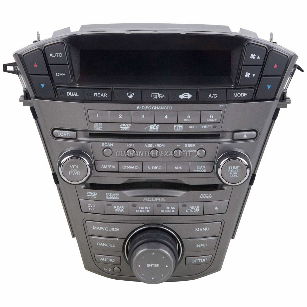2008 Acura MDX Radio Or CD Player Radio For Models With
