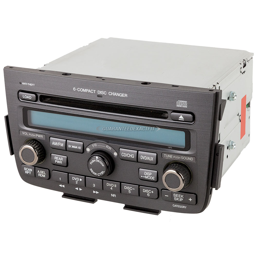 2004 Acura MDX Radio Or CD Player 6 Disc Radio With Face