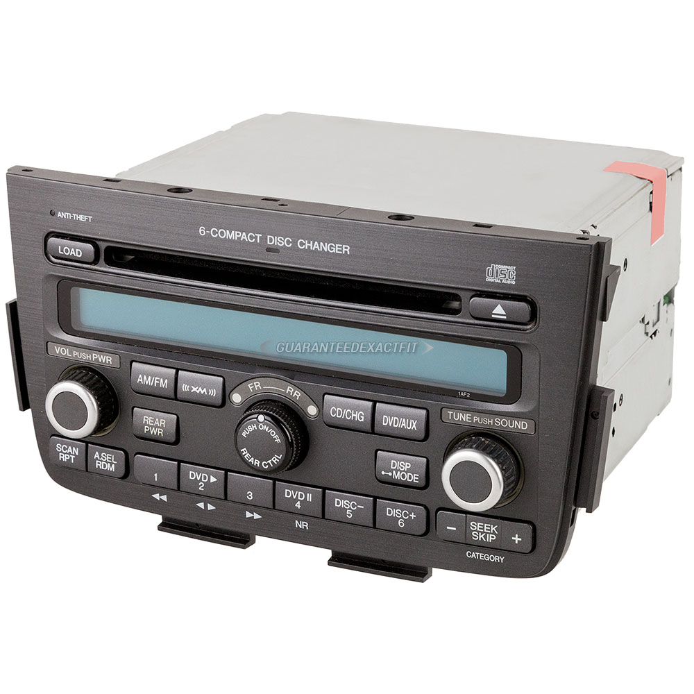 2006 Acura MDX Radio Or CD Player 6 Disc Radio For Models