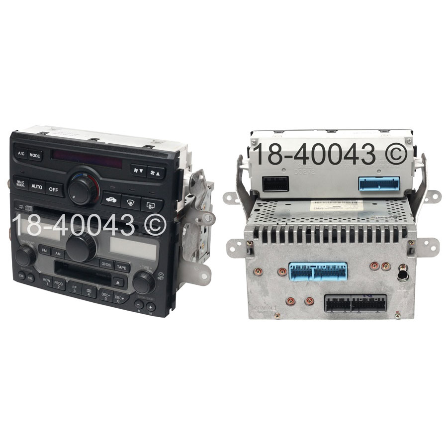 Radio or CD Player 18-40043 R