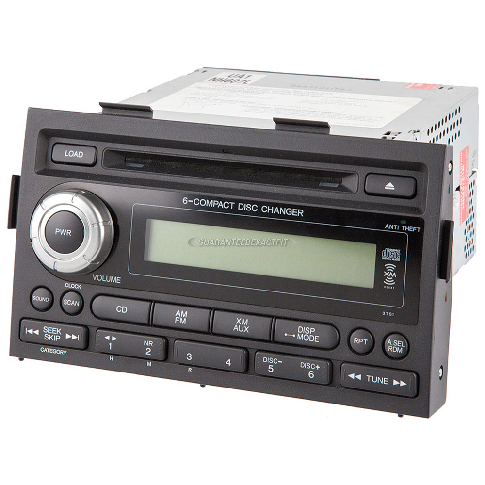 Honda Ridgeline Radio Or Cd Player