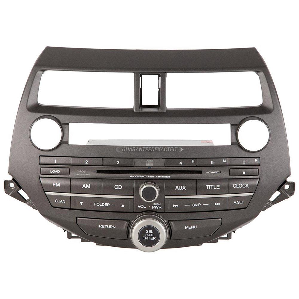 Fresno Auto Sales >> 2010 Honda Accord Radio or CD Player AM-FM-AUX-6CD Radio ...