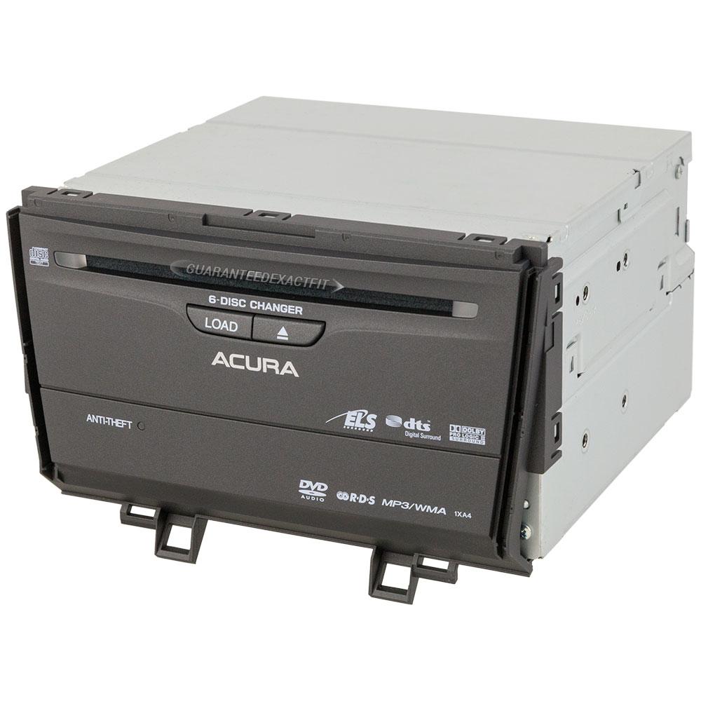 2009 Acura TSX Navigation Unit In-Dash Navigation Unit