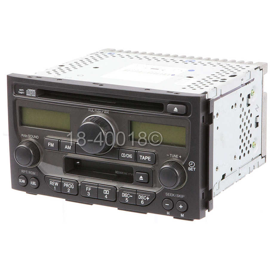 Radio or CD Player