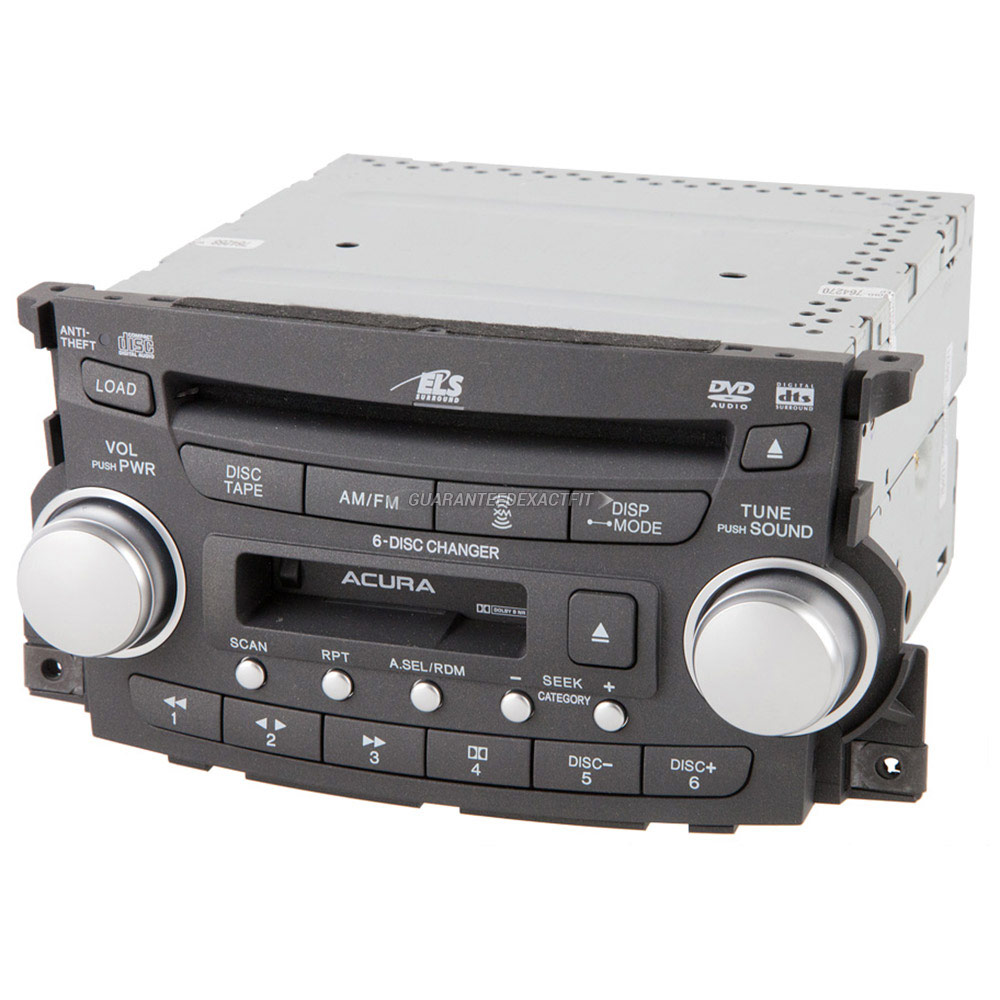17 Acura Tl 1999 2000 2001 2002 2003 2004 2005 2006 2007: Acura Radio Or CD Player Parts, View Online Part Sale