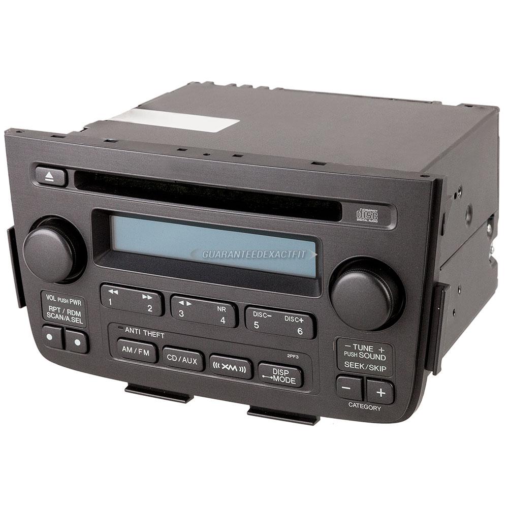 2006 Acura MDX Radio Or CD Player AM-FM-Single CD Radio