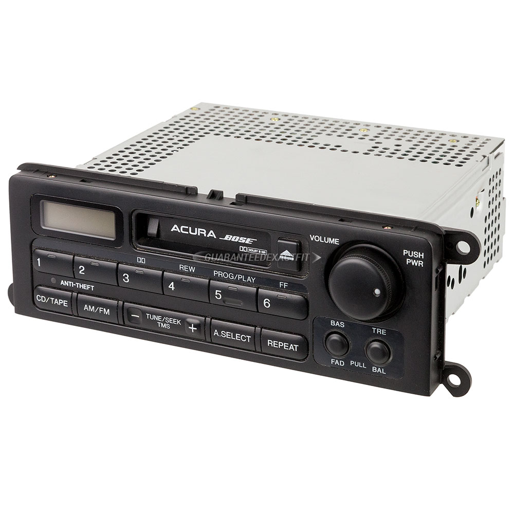 2000 Acura RL Radio Or CD Player Radio For Models With