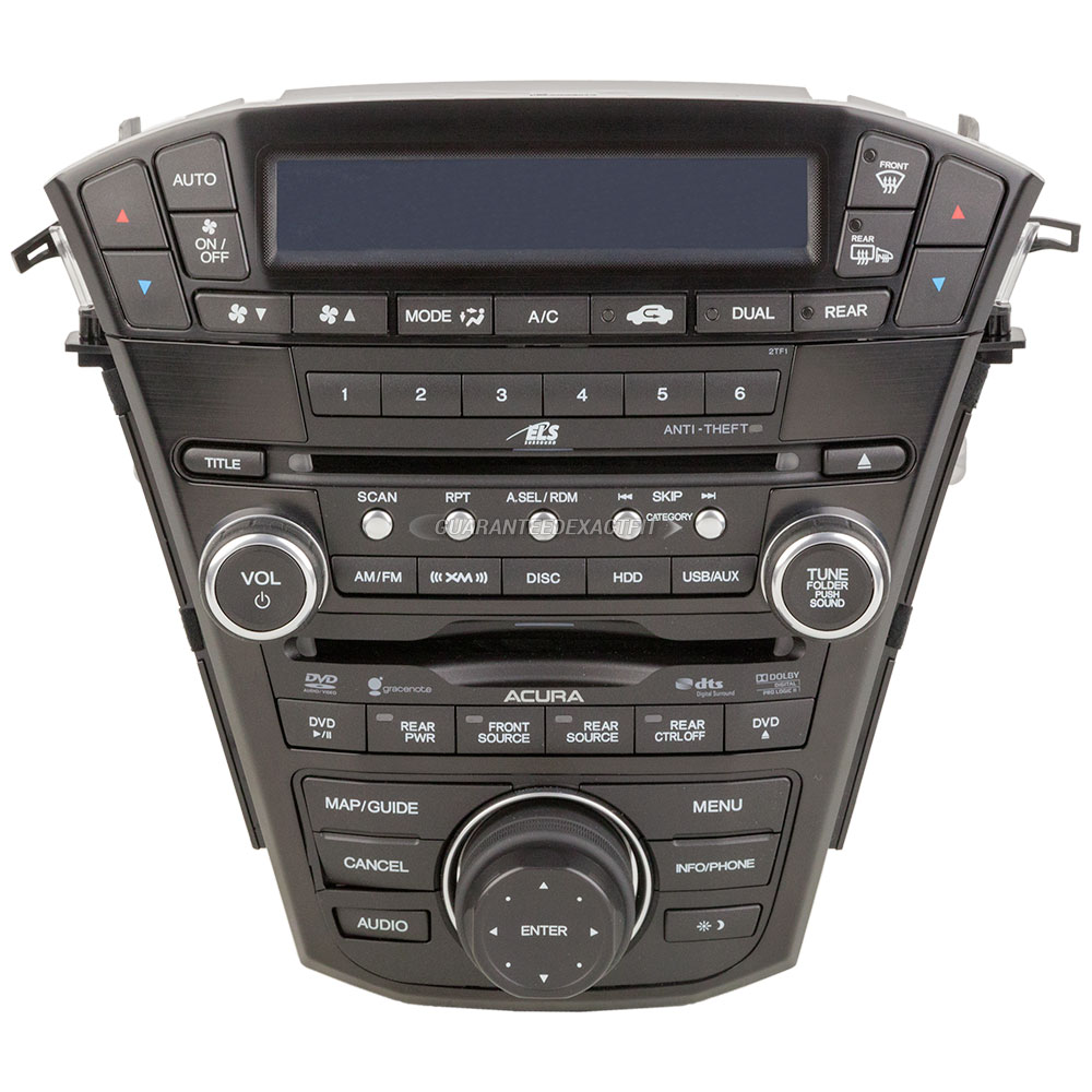 Radio Or CD Players Remanufactured For Acura MDX OEM REF - Acura mdx cd player