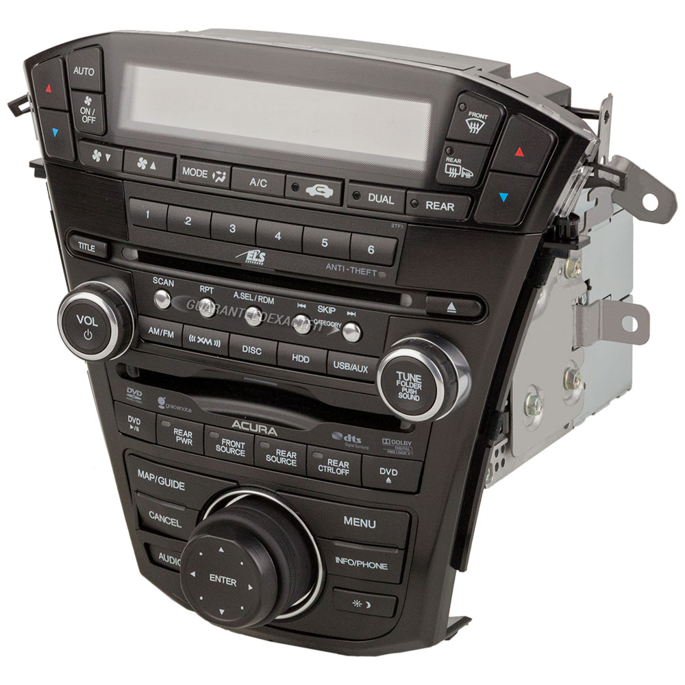 2011 Acura MDX Radio Or CD Player In-Dash Radio [OE